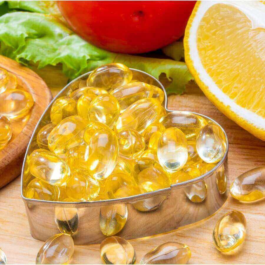 Омега‑3 (рыбий жир, 60 капсул)